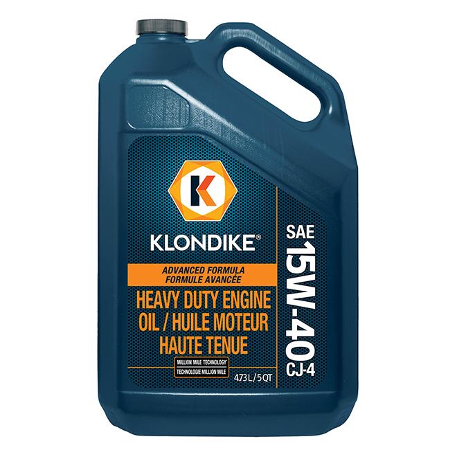 15W-40 CK-4 Heavy Duty Engine Oil 3-Pack (3 x 4.73 L / 1.25 GAL Jug)