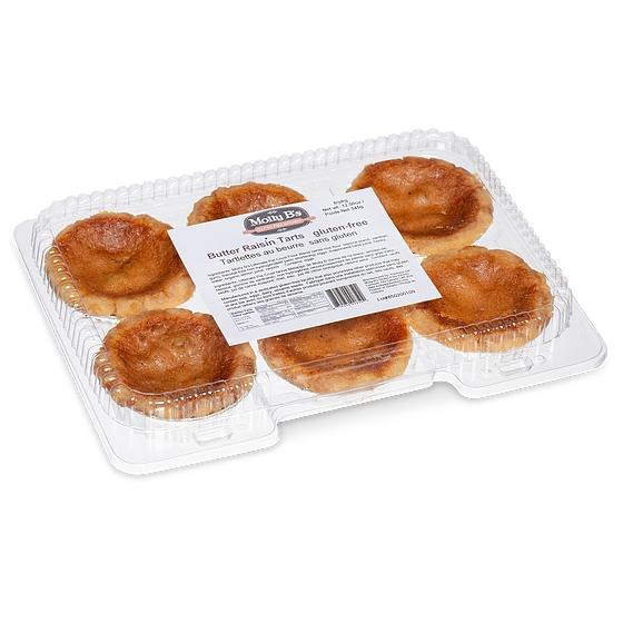 Molly B's Gluten-Free Butter Raisin Tarts, 6pk x 12/case