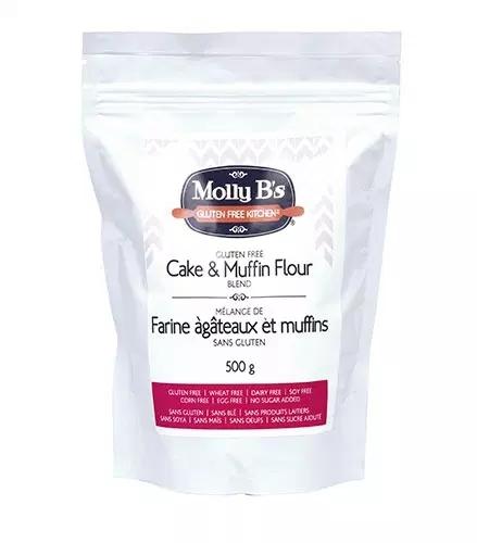 Molly B's Gluten-Free Cake and Muffin Flour Blend, Vegan, 3kg x 4/cs