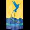 Blue Heaven Hemp Infused Coffee - Premium Jamaican Blue Mountain Coffee Blend - Medium Roast 1lb