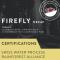 FIREFLY DECAF (RAINFOREST ALLIANCE, SWISS WATER PROCESS) - MEDIUM ROAST 24x2.50oz