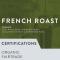 FRENCH ROAST (FAIR TRADE, ORGANIC) - FRENCH ROAST