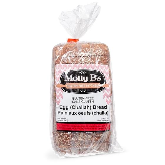 Molly B's Gluten-Free Egg Bread (Challah) - Case of 12