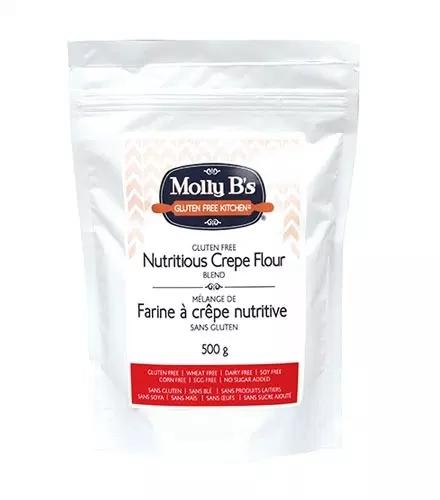 Molly B's Gluten-Free Nutritious Crepe Flour Blend, Vegan, 3kg x 4/cs