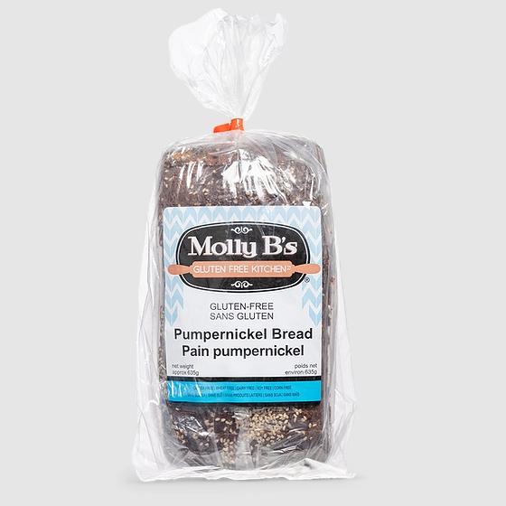 Molly B's Gluten-Free Pumpernickel Bread - Case of 12