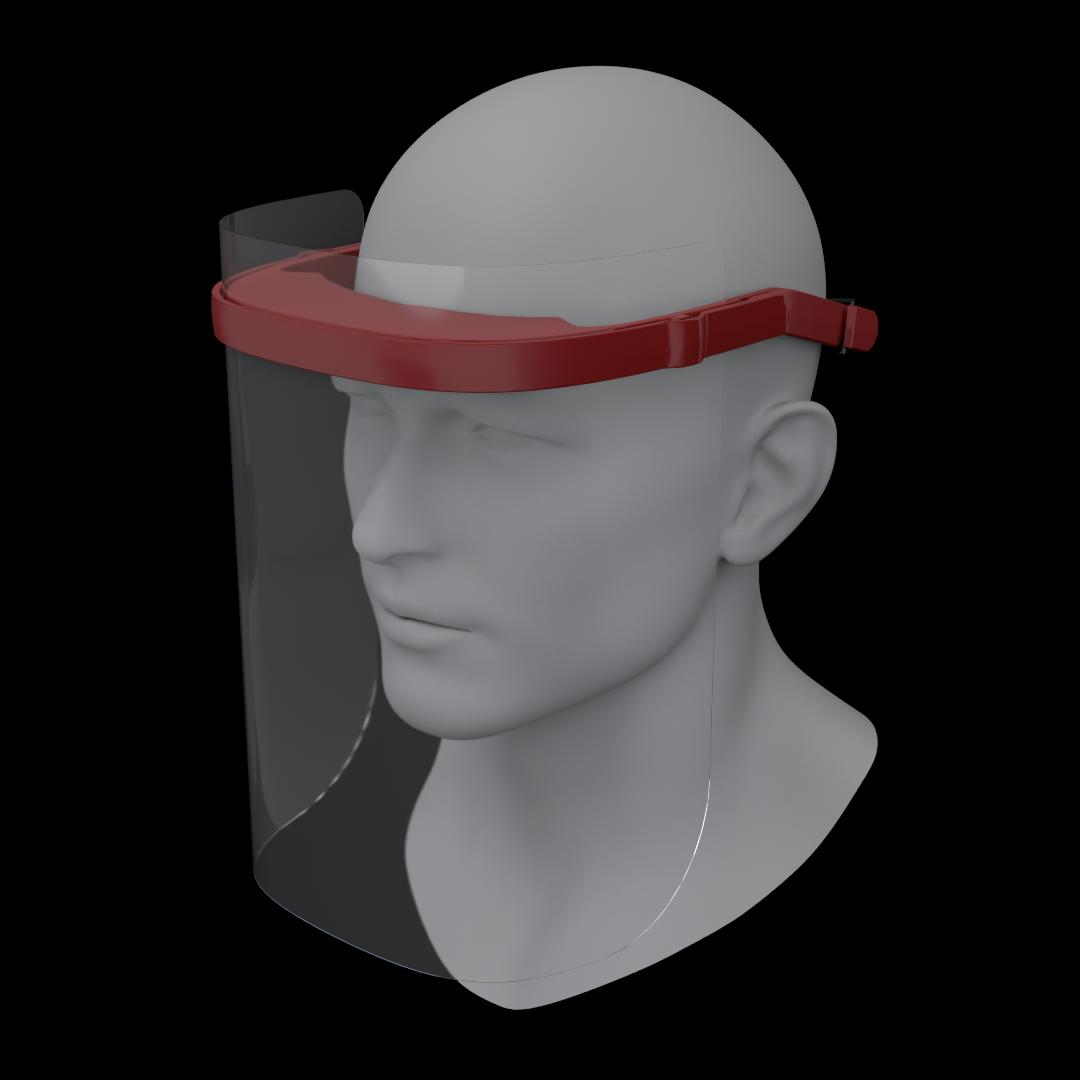 Protek SHIELD Face Shield, 3-Pack