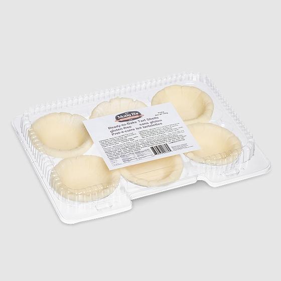 "Molly B's Gluten-Free Tart Shells (3"") Ready-to-Bake, 12x 6-pack"